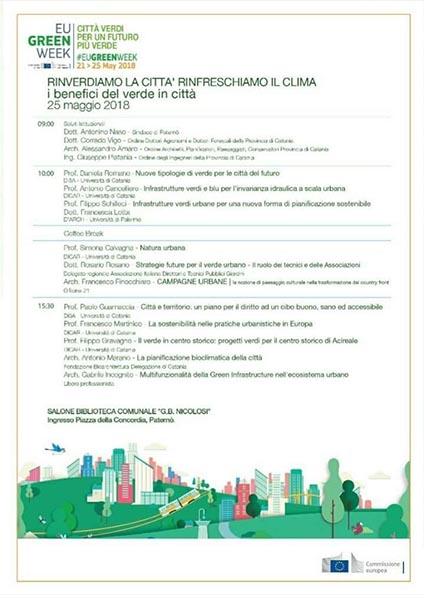 green Week locandina retro 1